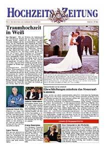 beispiel einer hochzeits zeitung - Hochzeitszeitung Beispiele