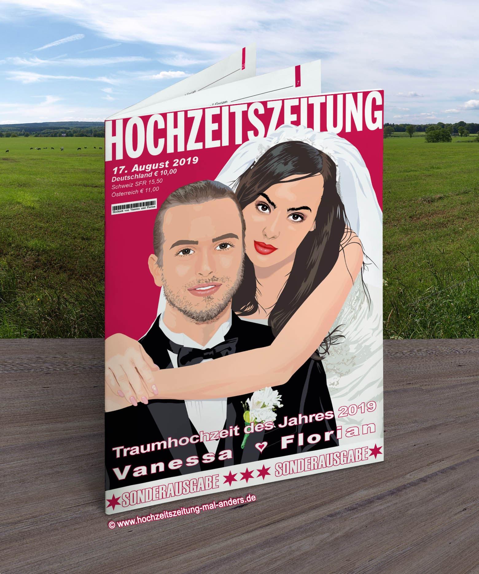 Hochzeitszeitung Mal Anders Die Originale