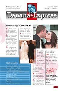 eine sehr schne und ausgefallenen hochzeitszeitung von anastasia und daniel - Hochzeitszeitung Beispiele Pdf