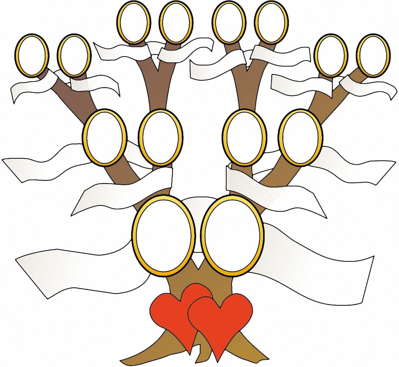 beispiel eines stammbaums in einer hochzeitszeitung - Hochzeitszeitung Beispiele