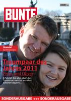Eine sehr schoene und ausgefallenen Hochzeitszeitung von Petra und Oliver http://www.dominicganz.de