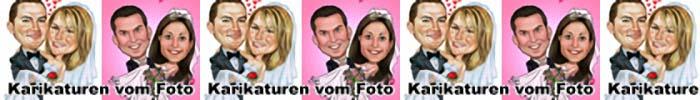 Hochzeitskarikaturen
